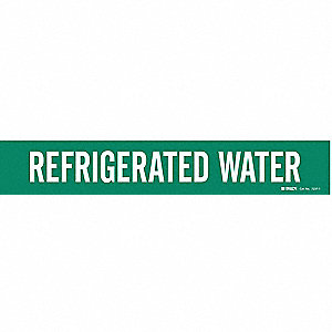 Pipe Mkr, Refrigerated Water, 2-1/2to7-7/8