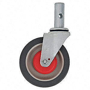 "5"" Light-Medium Duty Swivel Stem Caster, 500 lb. Load Rating"