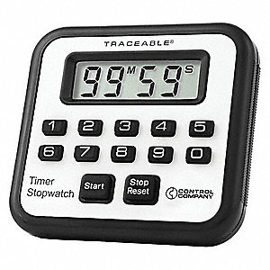 Count-Up/Down Timer, Black