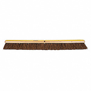 "Palmyra Push Broom, Block Size 36"", Hardwood Block Material"