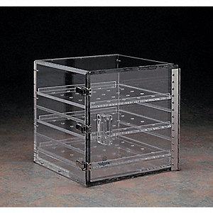 nalgene desiccator cabinet,acrylic,3 shelf - 9dkk1 5317-0120