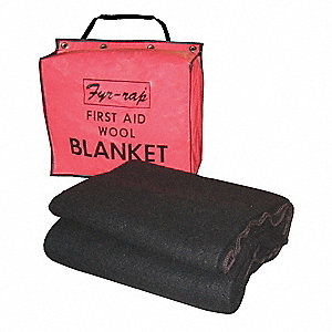 Fire Blanket and Tote, Wool