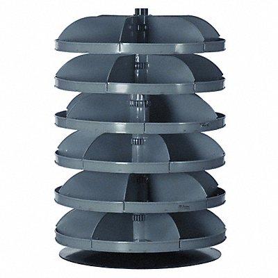 9DXA0 - Revolving Bin 34 In 6 x 500 lb Shelf