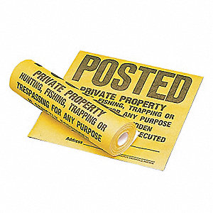 "Authorized Personnel and Restricted Access, Plastic, 12"" x 12"""