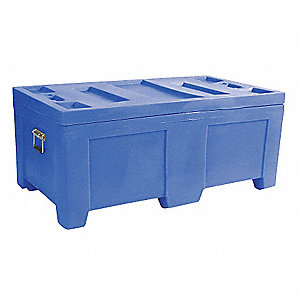 Container,16.5 cu.-ft.,650 lbs.,Blue