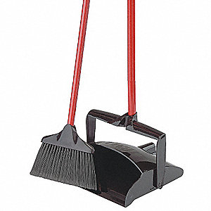 "Lobby Broom and Dust Pan, 41"" Overall Length"