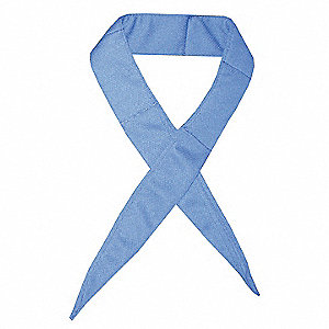 Cooling Neckband,Blue,One Size,Polyester
