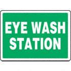 SAFETY SIGN EYE WASH STATION PLAS