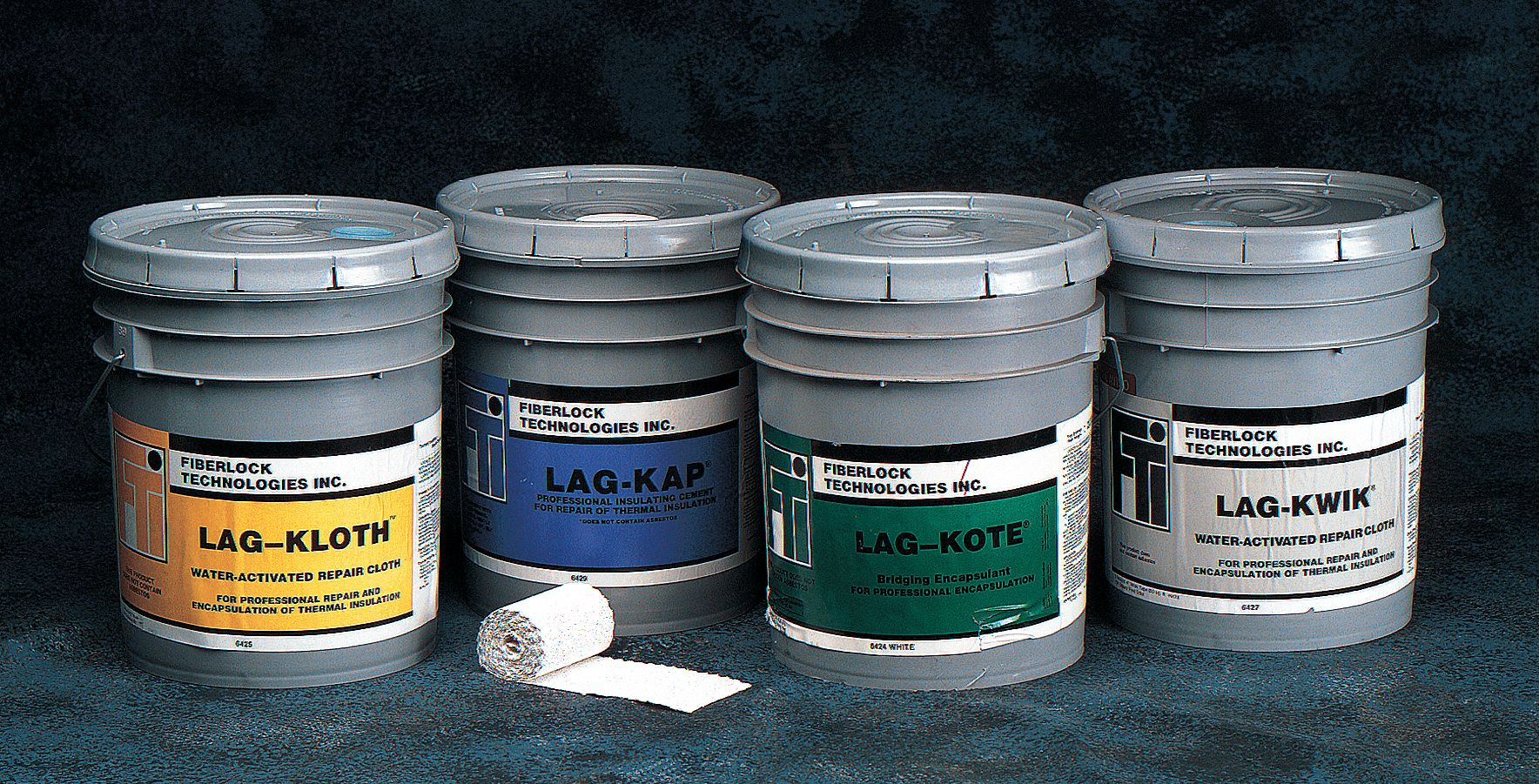 Green, 50 to 100 sq ft per gal, Asbestos Binding Compound, 5 gal