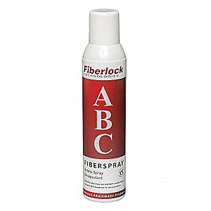 White, 35 to 40 sq. ft. per Can, Airless Spray Encapsulant, 8 oz.