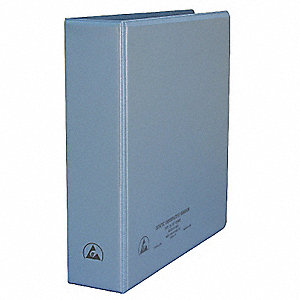 "Static Dissipative Binder, 3"", Vinyl"