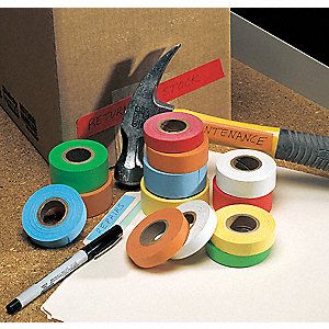 "14 yd. x 1/2"" Paper Carton Sealing Tape, Green"
