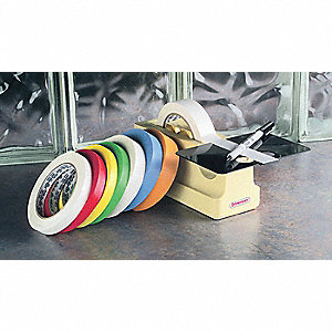 "Floor Marking Tape, Solid, Roll, 1/2"" x 120 ft., 1 EA"