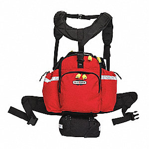 Wildland Backpack,Red,1000D Cordura(R)