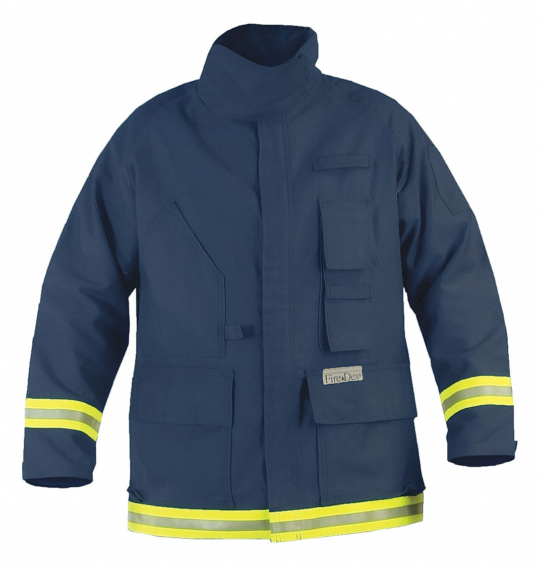 Navy Extrication Jacket,  L,  Fits Chest Size 46 in,  Zipper/Hook-and-Loop Closure Type