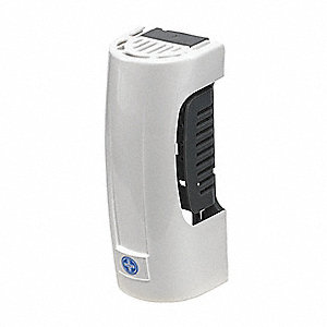 Continuous Air Freshener Dispenser, 6000 cu. ft. Coverage, Cartridge Refill Type, White