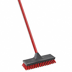 "10-1/2 x 3-1/4"" Scrub Brush with Squeegee"
