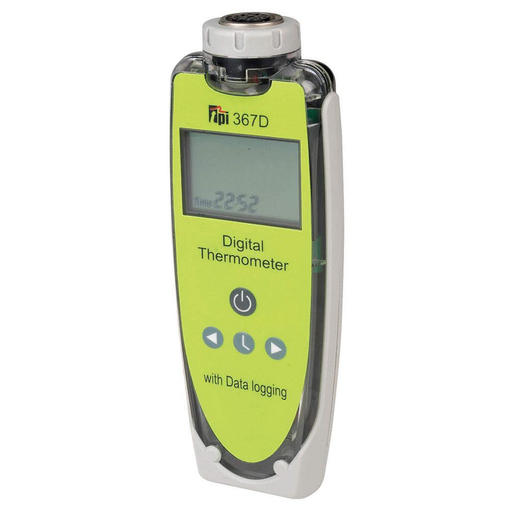 1-Input Type K, Type T Lumberg Data Logging Thermometer