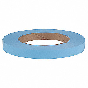 "60 yd. x 1/2"" Paper Carton Sealing Tape, Blue"