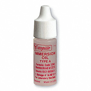 Microscope Immersion Oil,1/4 Oz