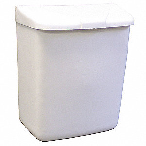 Sanitary Napkin Receptacle,White