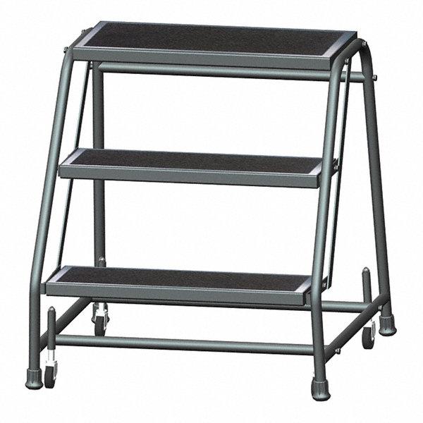 Ballymore 3 Step Rolling Ladder Abrasive Mat Step Tread