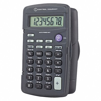 9GGA4 - Calculator Portable 4-1/4 In 8 Digit