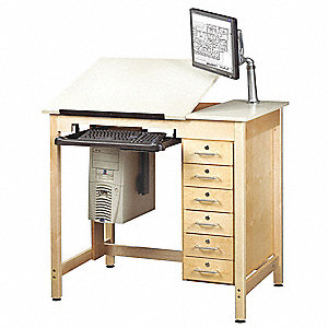 DRAWING TABLE WITH DRWRS