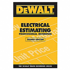 Estimating Reference Book, Electrical, English, General Reference, Paperback
