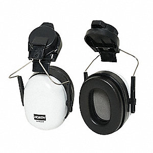 Ear Muffs,Hard Hat Mounted,NRR 23dB,PR