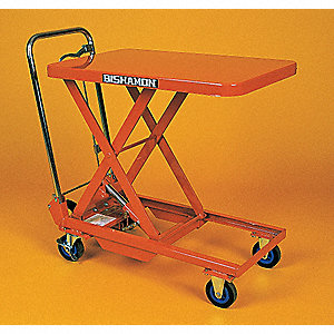 Mobile Scissors Lift Table,Manual