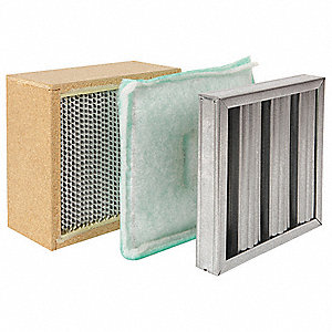 12x12x9 Baffle Panel and Hepa Filter For Use With Mfr. No. S-DD1, Frame Included: Yes