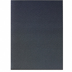 Static Dissipative Mat, Steel Gray, Zedlan Foam , 4 ft. x 3 ft., 1 EA