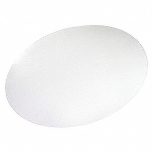 "Designer Chair Mat,Oval,Beveled,60""x48"""