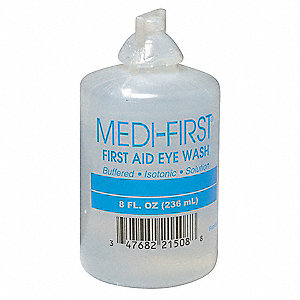 Eye Wash, 8 oz. Bottle
