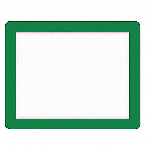 Custom Sign,10 x 12-1/2In,GRN,PS,SURF