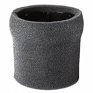 Filter,Foam Sleeve,5-3/4 in.,Reusuable