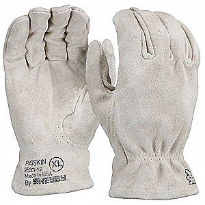 Heat Resistant Gloves,Buttermilk, XL,PR