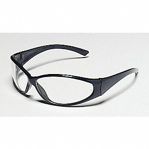 Atlantis  Scratch-Resistant Safety Glasses, Smoke Lens Color