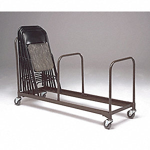 Chair Caddy Support,Adj,Blk,20-1/2x1x24