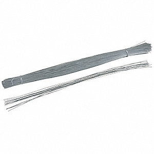 Tag Fastener, 26 Gauge Galvanized Steel Wire, 1000 PK