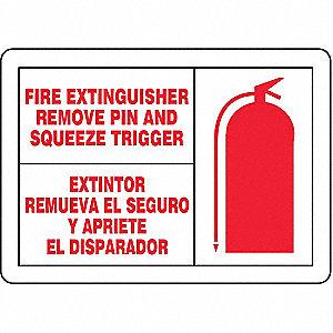 FIRE LBL FIRE EXTG ENG/SP 3 1/2X5
