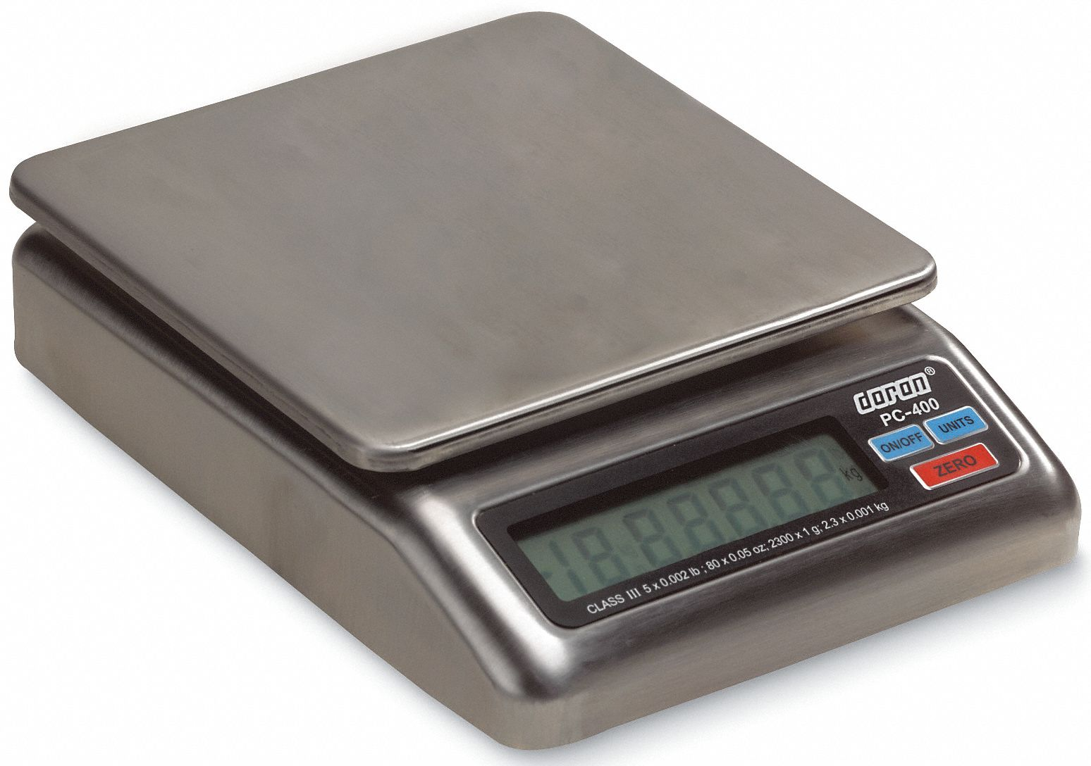 2 lb, 1,000 g,  Digital,  LCD,  Compact Bench Scale