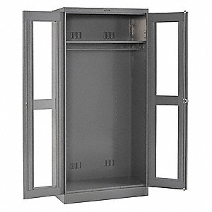 Wardrobe Storage Cabinet,24 x36x78,Gray