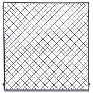 Panel, Material: Woven Wire, Overall Height: 4 ft, Overall Width: 1 ft