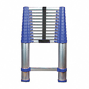 Telescoping Ladder,15-1/2 ft.,Type I