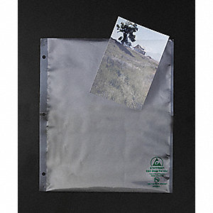 "11""L x 9-1/2""W Open Static Shielding Bag, Clear"