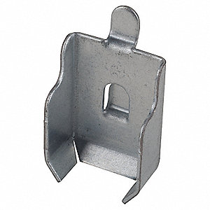 steel shelf clip gray pk4 - Edsal