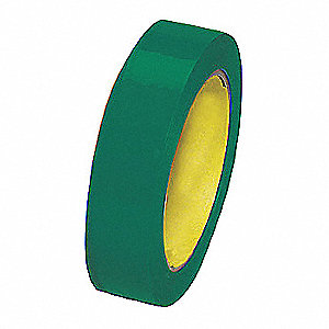 "Polyethylene Sealing Tape Thick, 1"" X 36 yd., Green, 1 EA"