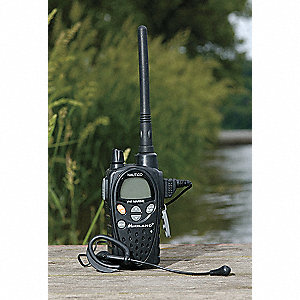 VHF Backlit LCD Portable Two Way Radio, Number of Channels 88